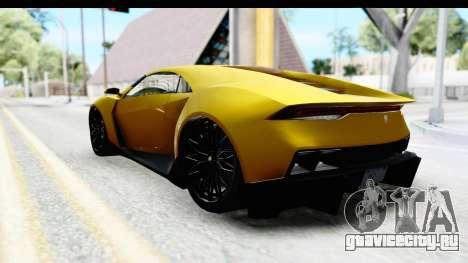 GTA 5 Pegassi Reaper IVF для GTA San Andreas вид слева