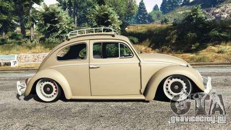 Volkswagen Fusca 1968 v0.8 [replace] для GTA 5 вид слева