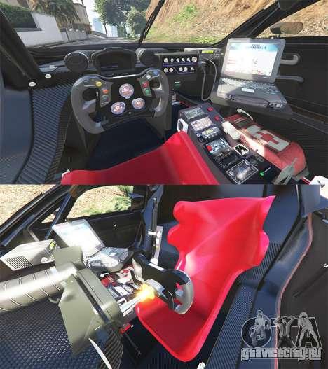 Renault Sport RS 01 2014 Police Interceptor [a] для GTA 5 вид сзади справа