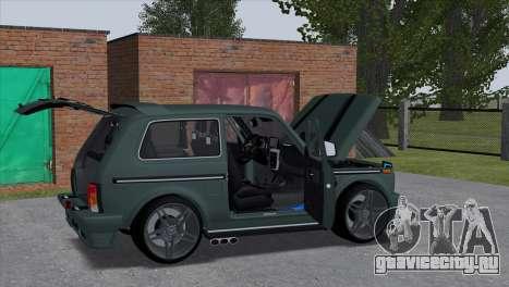 VAZ 2121 Tuning Hamman для GTA San Andreas