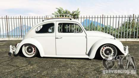 Volkswagen Fusca 1968 v1.0 [add-on] для GTA 5 вид слева