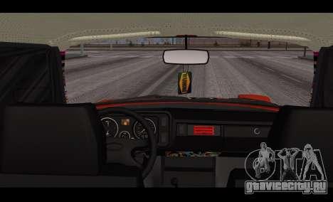ВАЗ 2105 Пятачок v3 для GTA San Andreas вид сзади слева