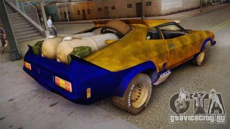 Ford Falcon 1973 Mad Max: Fury Road для GTA San Andreas вид слева