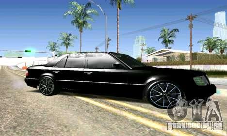 Mercedes-Benz E500 W124 для GTA San Andreas вид слева