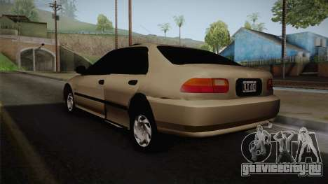 Honda Civic Sedan EX 1993 для GTA San Andreas вид слева