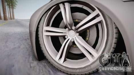 NFS: Carbon TFKs Aston Martin Vantage для GTA San Andreas вид сзади слева