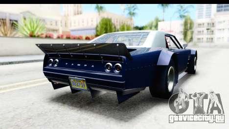 GTA 5 Declasse Tampa Drift для GTA San Andreas вид слева