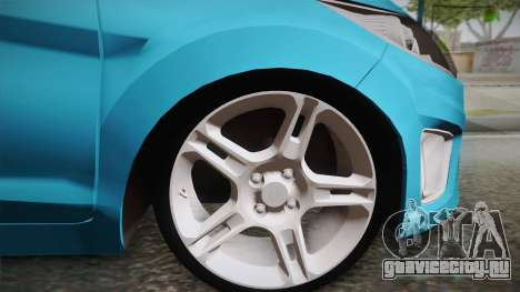 Ford Fiesta Kinetic Design для GTA San Andreas вид сзади слева