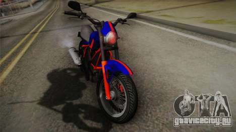 GTA 5 Pegassi Esskey PJ5 для GTA San Andreas вид сзади слева