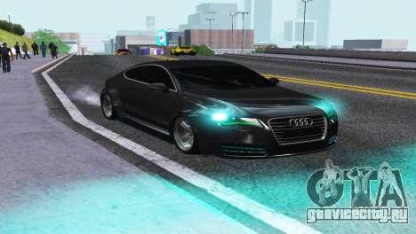 AUDI A7 SPORTSBACK для GTA San Andreas