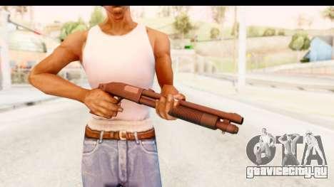 Tactical Mossberg 590A1 Black v1 для GTA San Andreas третий скриншот