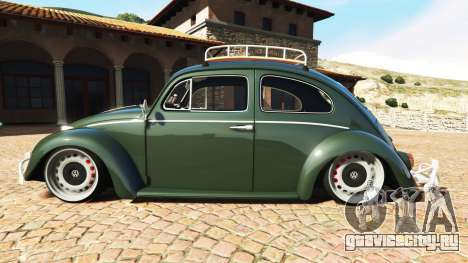 Volkswagen Fusca 1968 v1.0 [replace] для GTA 5 вид слева