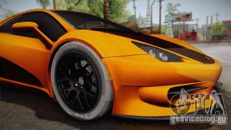 HTT Plethore LC750 2012 для GTA San Andreas вид сзади