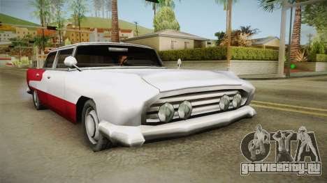 Refreshed Oceanic для GTA San Andreas вид справа