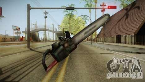 Silent Hill 2 - Chainsaw для GTA San Andreas третий скриншот