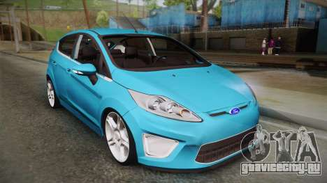 Ford Fiesta Kinetic Design для GTA San Andreas