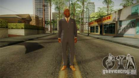 Quantum Break - Martin Hatch (Lance Reddick) для GTA San Andreas второй скриншот