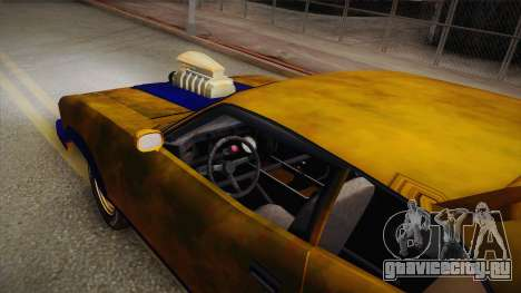 Ford Falcon 1973 Mad Max: Fury Road для GTA San Andreas вид справа