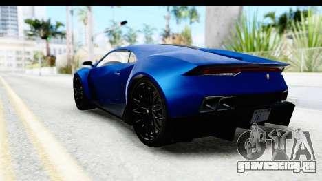 GTA 5 Pegassi Reaper SA Style для GTA San Andreas вид справа