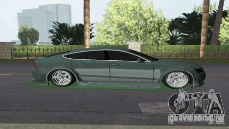 Audi A7 Sportback для GTA Vice City вид слева