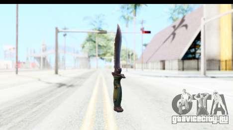CS:GO - Bowie Knife для GTA San Andreas