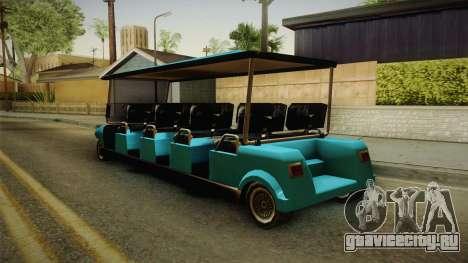 Caddy Limo для GTA San Andreas вид слева