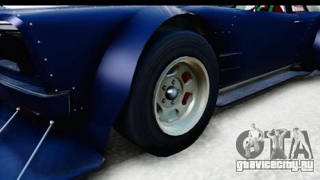 GTA 5 Declasse Tampa Drift для GTA San Andreas вид сзади
