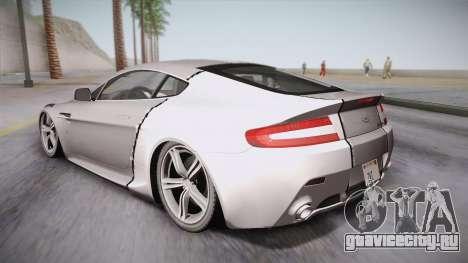 NFS: Carbon TFKs Aston Martin Vantage для GTA San Andreas вид слева