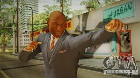 Quantum Break - Martin Hatch (Lance Reddick) для GTA San Andreas