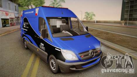 Mercedes-Benz Sprinter 2012 Midwest Ambulance для GTA San Andreas