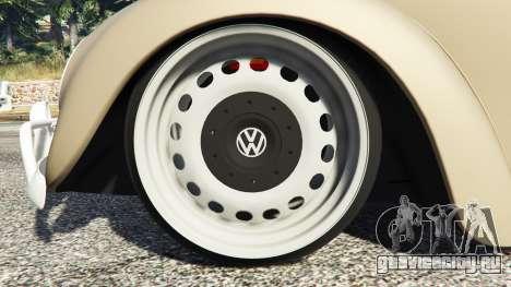 Volkswagen Fusca 1968 v0.8 [replace] для GTA 5 вид справа