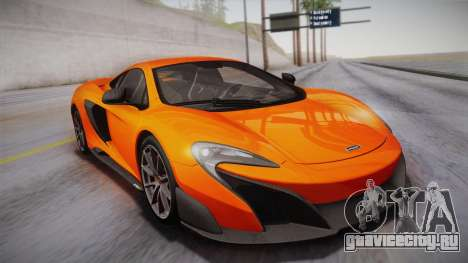 McLaren 675LT 2015 10-Spoke Wheels для GTA San Andreas