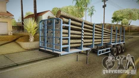 МАЗ 99864 Trailer v1 для GTA San Andreas вид справа