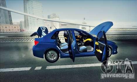 Subaru Impreza WRX STI 2011 для GTA San Andreas вид справа