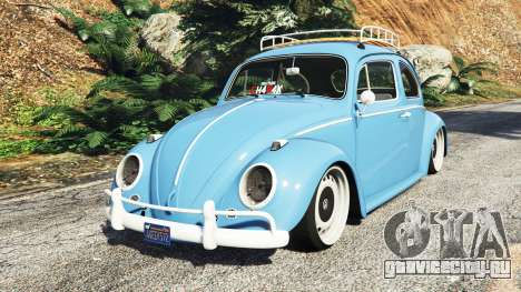 Volkswagen Fusca 1968 v0.9 [replace] для GTA 5