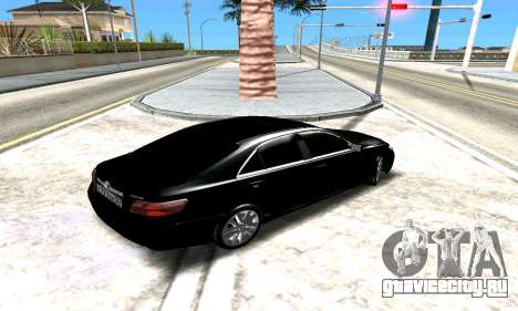 Toyota Camry для GTA San Andreas вид сбоку