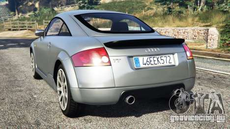 Audi TT (8N) 2004 [replace] для GTA 5 вид сзади слева