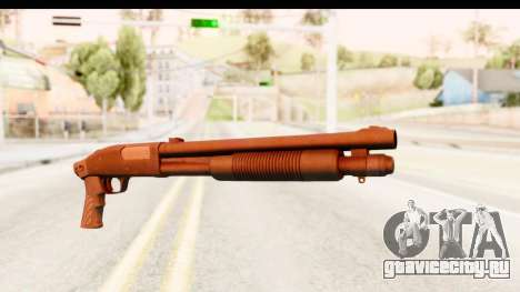 Tactical Mossberg 590A1 Black v1 для GTA San Andreas