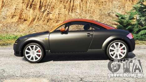 Audi TT (8N) 2004 [add-on] для GTA 5 вид слева