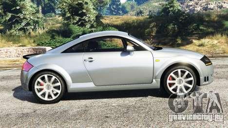 Audi TT (8N) 2004 [replace] для GTA 5 вид слева
