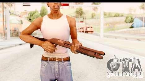 Tactical Mossberg 590A1 Black v2 для GTA San Andreas третий скриншот