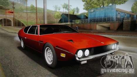 Lamborghini Espada S3 39 1972 для GTA San Andreas