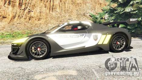 Renault Sport RS 01 2014 Police Interceptor [a] для GTA 5 вид слева