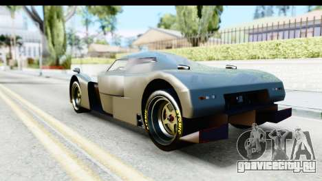 GTA 5 Annis RE-7B IVF для GTA San Andreas вид слева