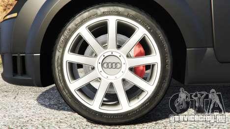 Audi TT (8N) 2004 [add-on] для GTA 5 вид сзади справа