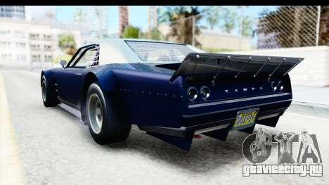 GTA 5 Declasse Tampa Drift для GTA San Andreas вид справа