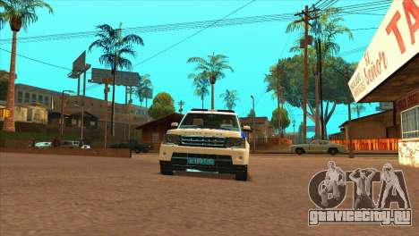 Range Rover Sport ДПС для GTA San Andreas вид справа