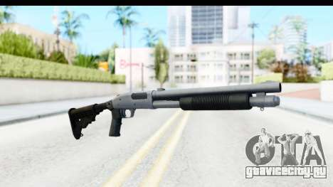 Tactical Mossberg 590A1 Chrome v4 для GTA San Andreas