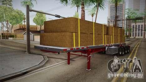 Trailer Americanos v2 для GTA San Andreas вид сзади слева