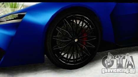 GTA 5 Pegassi Reaper SA Style для GTA San Andreas вид сзади